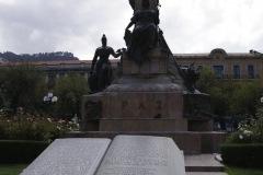 Plaza Murillo- benannt nach Pedro Domingo Murillo (1759-1810) - Freiheitskämpfer und Vorbereiter der bolovianischen Unabhängigkeit