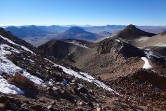 bereits sieht man schön nach Bolivien - auf den Altiplano