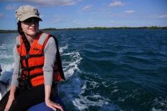 unterwegs by zodiac, unserem Schlauchboot