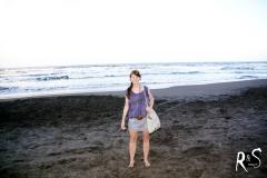 am Strand von Tortuguero