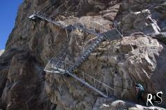 ...noch 150m und 468 Stufen bis zur Konkordiahütte!