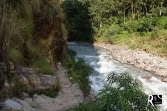 Budhi Gandaki kurz vor Tatopani