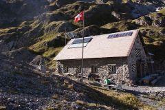 Bei der Wildhornhütte angelangt
