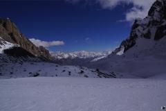 Blick auf die weissen Riesen von Tibet - in Tibet liegen mehr als 50 7000er!!