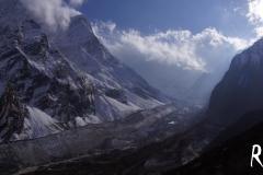 szenische Bilder auf dem Weg nach Dharamsala, dem letzten Camp vor dem Pass.