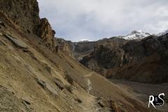 Bald sind wir am Ende der Welt im vorletzten Camp vor Thorung La, Thorung Pedi (4450m ü.M.)