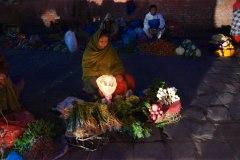 nachts auf dem Durbar Square