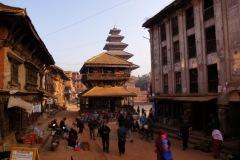 Bhaktapur - Nyatapola Temple and Bhaktapur Street Life