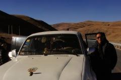 Unser Guide Noang (links) und Pande, unser Fahrer...