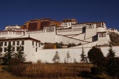 Potala-Palast - einst Sommerresidenz des Dalai Lama