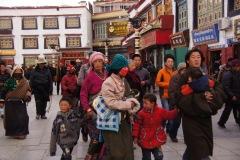 rund um den Jokhang-Tempel