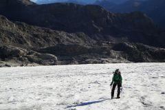 ....auf dem Glacier de Ténéhet