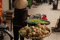 Gemüsehändlerin