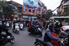 gut funktionierendes Verkehrschaos