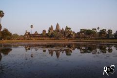 Angor Wat - das bekannteste Bauwerk der antiken Khmer-Stätte ANGKOR, erbaut zwischen 1113-1150 von Suryavarman II.
