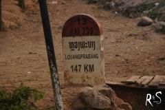 Luang Prabang rückt näher, wenn auch jeder Kilometer einzeln erkämpft werden darf!