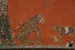 Tiger-Mosaik