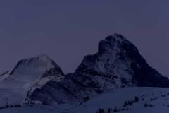 Mönch & Eiger - bei eisiger Morgendämmerung