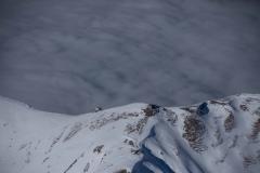 Axalphorn über dem Nebelmeer.
