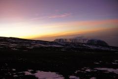 Nun sind wir auf dem Gipfelplateau und sehen bereits die Southern Icefields