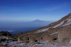 Sicht zum Mount Meru