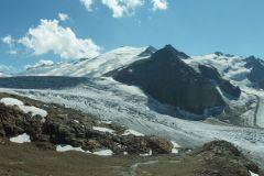 Wunderbares Panorama auf den oberen Triftgletscher