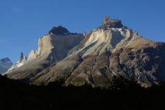 die Cuernos desselben Gebirgsmassivs wie die berühmten Torres del Paine