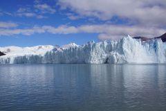 südliche Gletscherwand des Perito Moreno