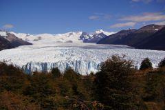 Perito Moreno in seiner nahezu ganzen Grösse