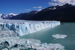 nördliche Gletscherfront