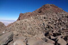 Der Gipfelaufbau des Sairécaburs