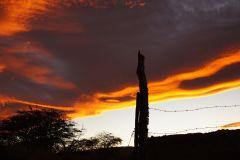 Dafür wurden wir mit einem wunderschönen Sonnenuntergang belohnt..