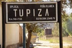 Tupiza Bahnhof...
