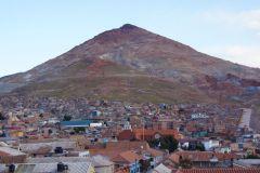 Blick über die Stadt - Cerro Rico im Hintergrund