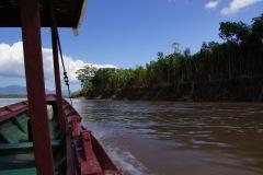 flussabwärts unterwegs von Rurrenabaque zum Reserva Serere