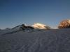 Da Strahlhorn erwacht - Sonnenaufgang