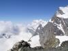 Sicht rüber zur Monterose - einer dieser Gipfel ist der höchste der Schweiz Dufourspitze