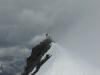 Der Grat zum Gipfel des Allalinhorns