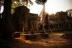 Die buddhistische Tempelanlage Preah Khan (Heiliges Schwert) ist vermutlich Relikt aus einer provisorischen Angkor-Hauptstadt - erbaut im späten 12. Jahrhundert.