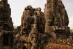 Die Gesichter des Bayon Tempels. Haupttempel von Angkor Thom.