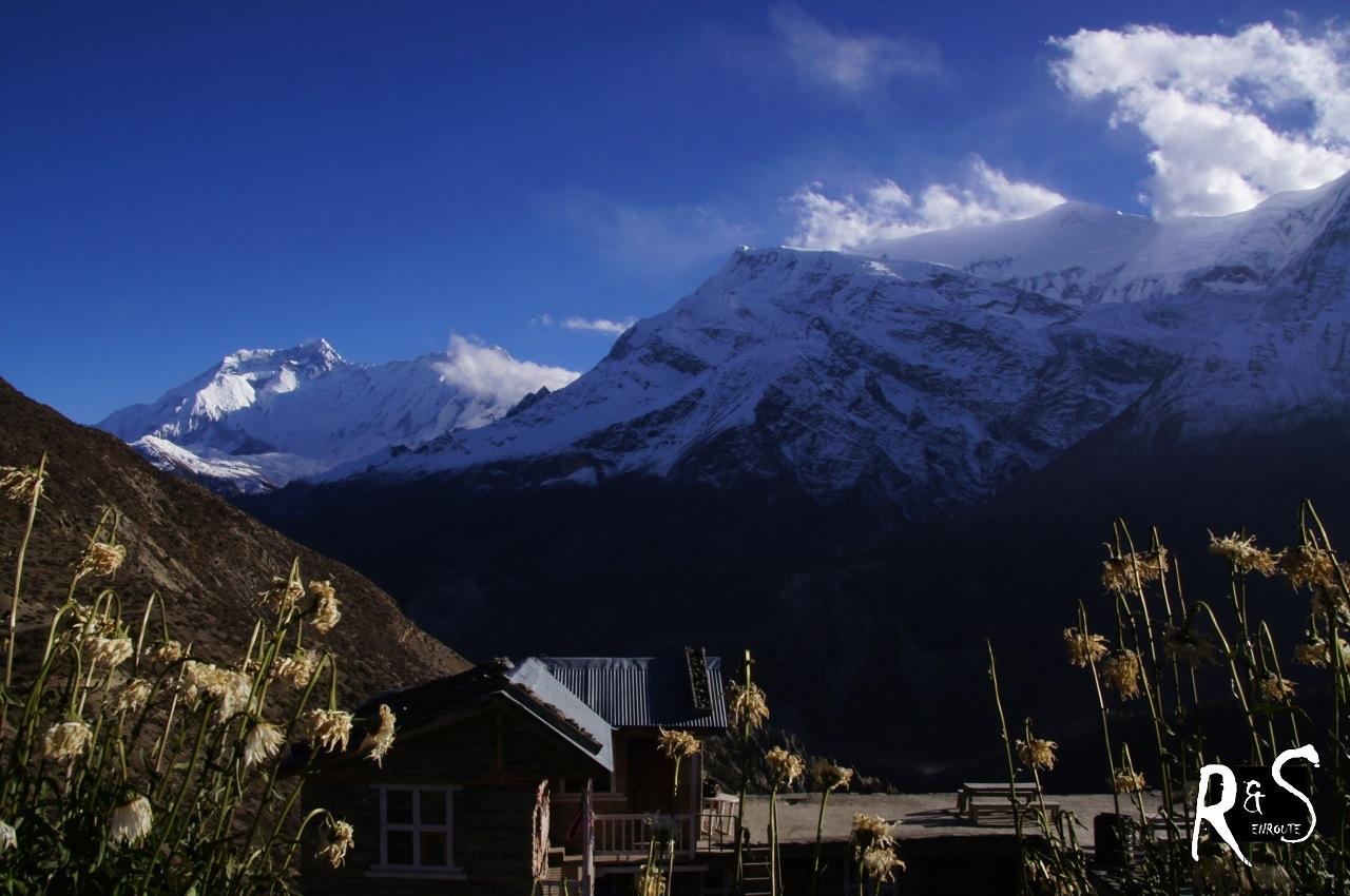 V. l. n. r. Annapurna IV & Annapurna III