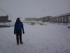 ...und plötzlich hat es zu schneien begonnen...