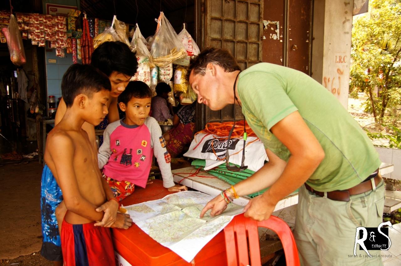 Geografiestunde mit Raphael - khmer/english