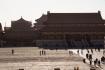 Einen Rückblick auf die zwei vorangehende Tore - das Duan-Tor und weit im Hintergrund das Tor des himmlischen Friedens