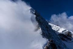 Was für einen Blick - dies lässt eine Kandenz jedes Bergsteigerherzens erhöhen