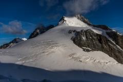 Rückblick auf die imposante Bernina