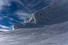 Eisabbruch an der Bella Vista