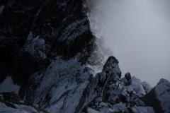 Mystischer Rückblick zur Fuorcla Prievlusa (3437m ü.M.)