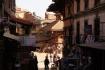 Street Life Bhaktapur - Richtung Nyatapola Tempel