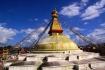 Die buddhistische Boudha-Stupa!